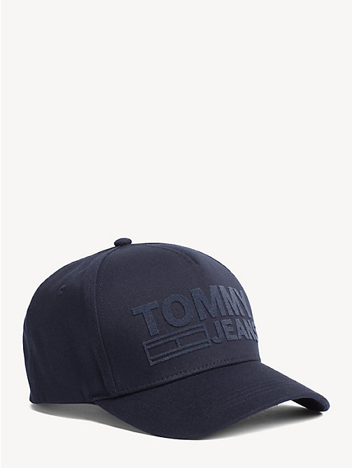 TOMMY JEANS Cotton Tommy Jeans Logo Cap - BLACK IRIS - TOMMY JEANS Shoes & Accessories - main image