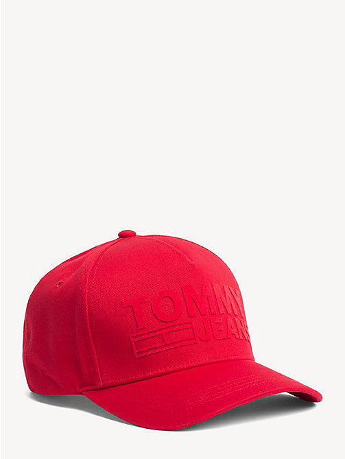 TOMMY JEANS Cotton Tommy Jeans Logo Cap - SAMBA - TOMMY JEANS Shoes & Accessories - main image