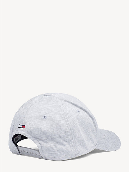 TOMMY JEANS Cotton Tommy Jeans Logo Cap - GREY - TOMMY JEANS Shoes & Accessories - detail image 1