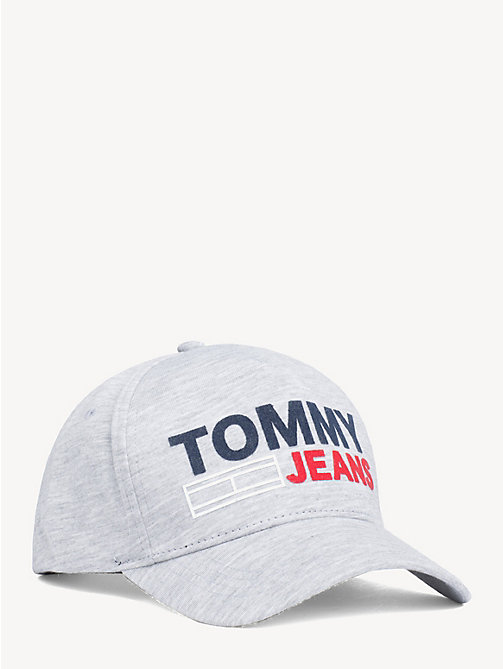TOMMY JEANS Cotton Tommy Jeans Logo Cap - GREY - TOMMY JEANS Shoes & Accessories - main image