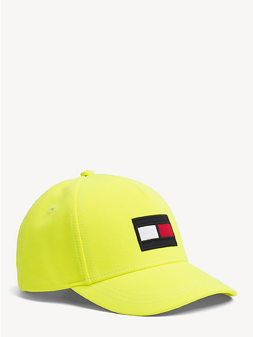 TOMMY HILFIGER Kids' Flag Baseball Cap - SAFETY YELLOW - TOMMY HILFIGER Shoes & Accessories - main image