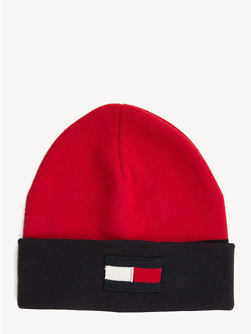 TOMMY HILFIGER Kids' Cool Tommy Football Beanie - CORPORATE MIX - TOMMY HILFIGER Winter Warmers - main image