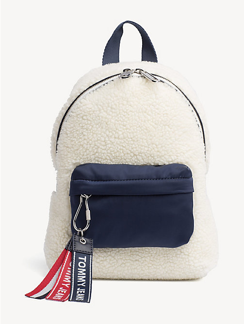 TOMMY JEANS Micro Logo Tape Backpack - PUMICE STONE - TOMMY JEANS Shoes & Accessories - main image