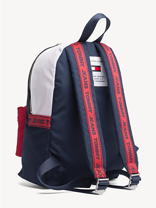 TOMMY JEANS Logo Tape Colour-Blocked Backpack - CORPORATE - TOMMY JEANS Shoes & Accessories - detail image 1