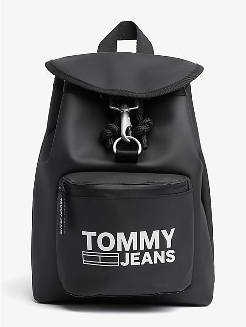 TOMMY JEANS Tommy Jeans Heritage Small Backpack - BLACK - TOMMY JEANS Shoes & Accessories - main image