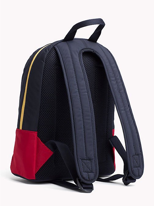 TOMMY HILFIGER Kids' Signature Mini Dome Backpack - TOMMY NAVY - TOMMY HILFIGER Shoes & Accessories - detail image 1