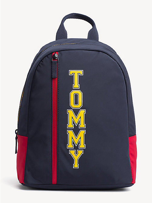 TOMMY HILFIGER Kids' Signature Mini Dome Backpack - TOMMY NAVY - TOMMY HILFIGER Shoes & Accessories - main image