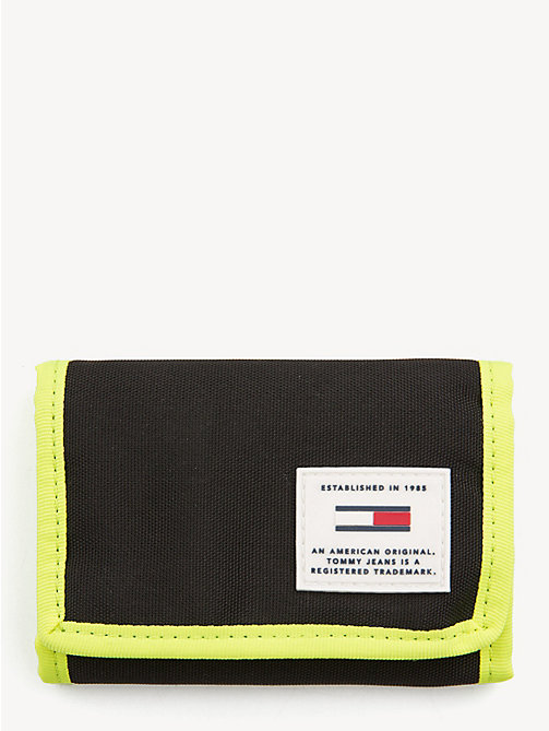 TOMMY JEANS Tommy Jeans Trifold Wallet - BLACK -  Shoes & Accessories - main image