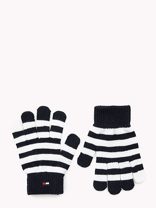 TOMMY HILFIGER Kids' Stripe Gloves - CORPORATE - TOMMY HILFIGER Shoes & Accessories - main image