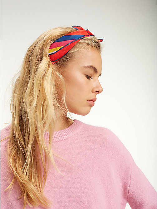 TOMMY JEANS Tommy Jeans Rainbow-Bandana - RAINBOW - TOMMY JEANS Schuhe & Accessoires - main image