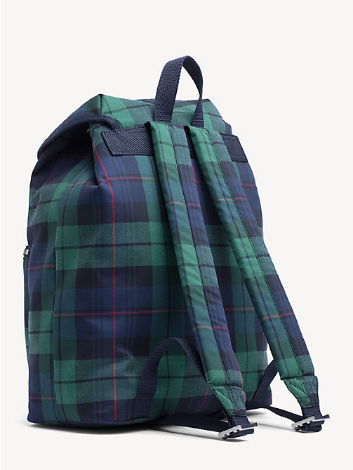 TOMMY JEANS 6.0 Crest Plaid Backpack - PLAID CHECK - TOMMY JEANS TOMMY JEANS Capsule - detail image 1