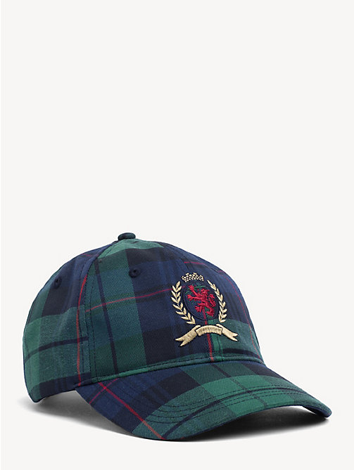TOMMY JEANS 6.0 Crest Plaid Check Baseball Cap - PLAID - TOMMY JEANS TOMMY JEANS Capsule - main image