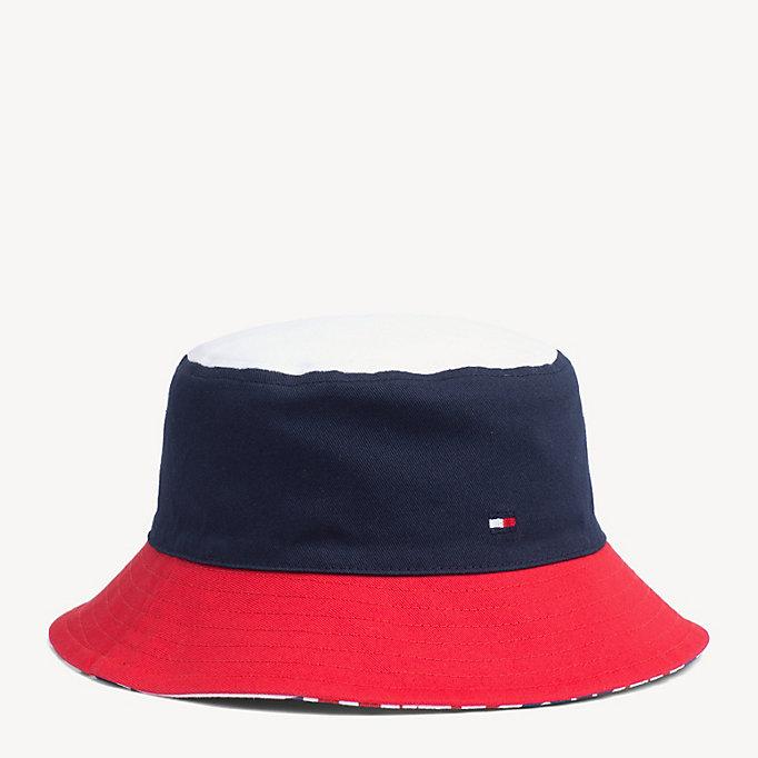 Kids' Reversible Bucket Hat by Tommy Hilfiger