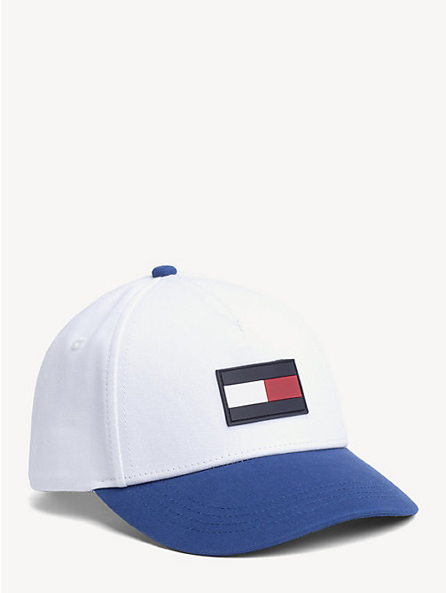 TOMMY HILFIGER Kids' Colour-Blocked Cap - WHITE/LIMOGES - TOMMY HILFIGER Shoes & Accessories - main image