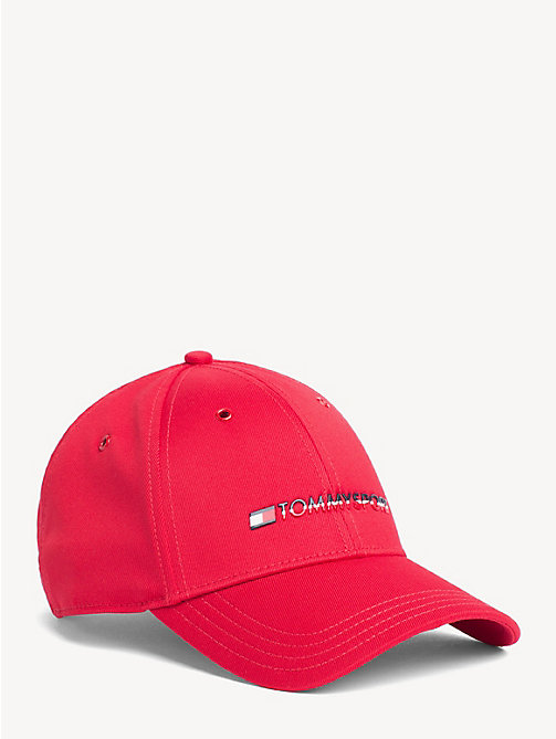 TOMMY SPORT Sport Logo Basic Cap - TOMMY RED - TOMMY SPORT Caps & Beanies - main image