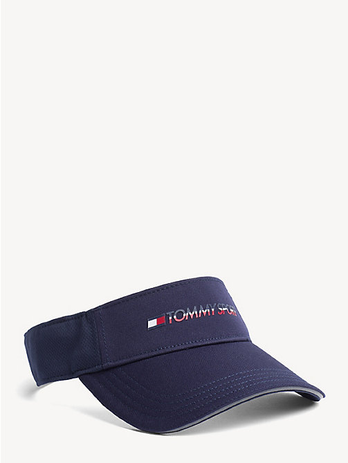TOMMY SPORT Mesh Panel Visor - CORPORATE - TOMMY SPORT Caps & Beanies - main image