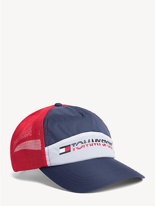 TOMMY SPORT Icon Cap mit Mesh - CORPORATE - TOMMY SPORT Caps & Mützen - main image