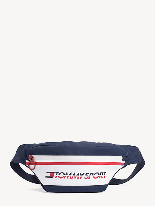 TOMMY SPORT Icon Star Print Bumbag - CORPORATE - TOMMY SPORT Crossbody Bags - main image