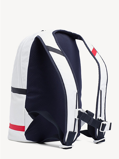 TOMMY SPORT TS Bright Flag Logo Backpack - BRIGHT WHITE - TOMMY SPORT Backpacks - detail image 1