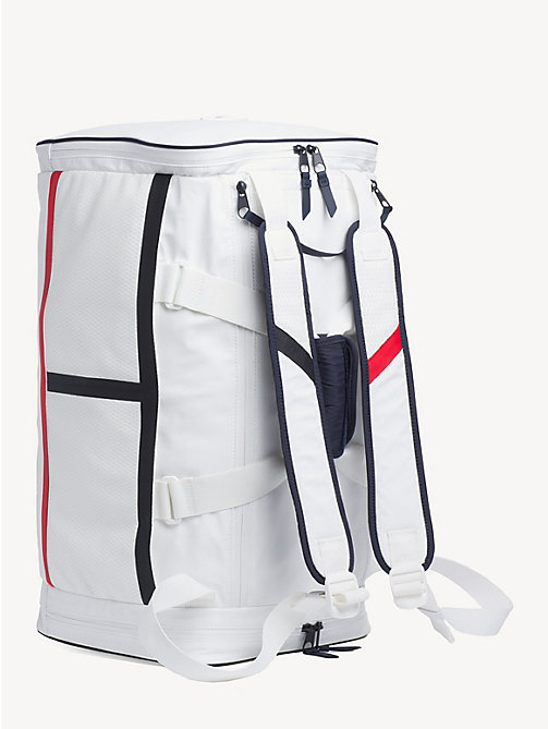 TOMMY SPORT Bright Duffle Bag - BRIGHT WHITE - TOMMY SPORT Duffle Bags - detail image 1