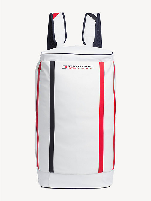 TOMMY SPORT Bright Duffle Bag - BRIGHT WHITE - TOMMY SPORT Duffle Bags - main image