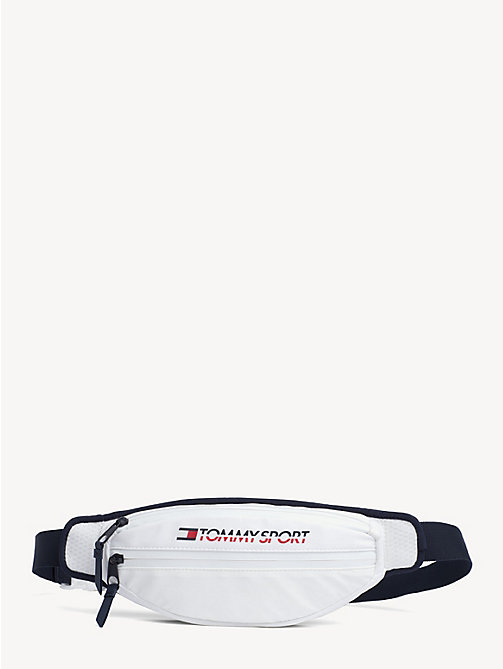 TOMMY SPORT Bright Bi-Colour Bumbag - BRIGHT WHITE - TOMMY SPORT Crossbody Bags - main image