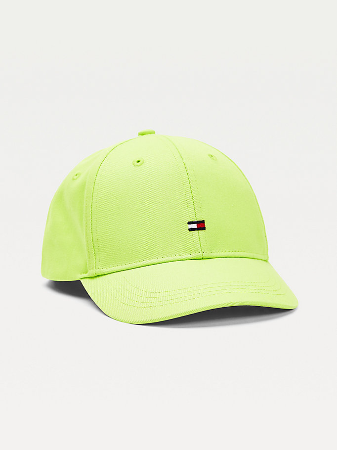 green kids' flag embroidery baseball cap for kids unisex tommy hilfiger
