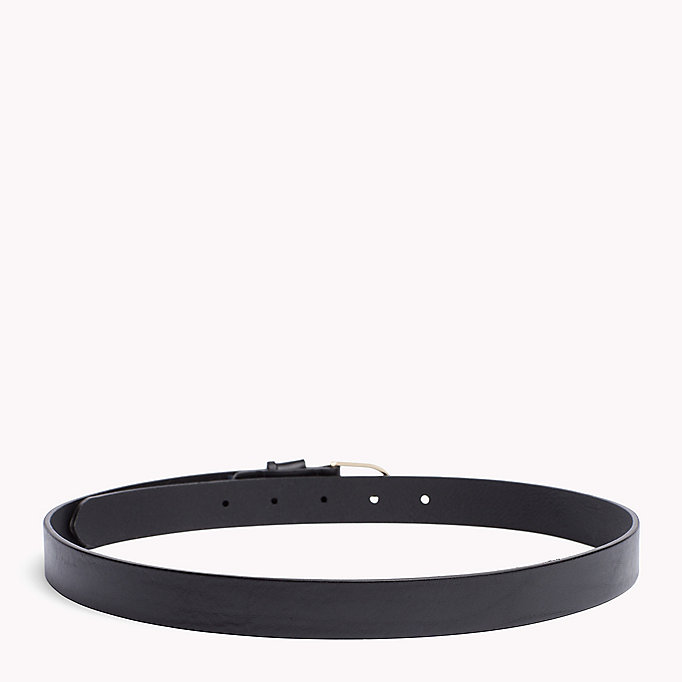 TOMMY HILFIGER Leather Belt - TOMMY RED - TOMMY HILFIGER Women - detail image 1