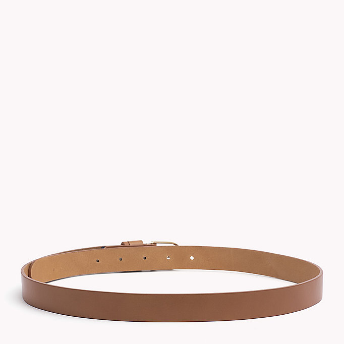 TOMMY HILFIGER Leather Belt - MIDNIGHT - TOMMY HILFIGER Women - detail image 1
