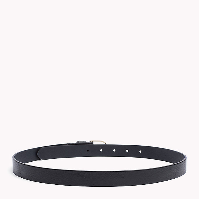 TOMMY HILFIGER Leather Belt - TURTLEDOVE - TOMMY HILFIGER Women - detail image 1