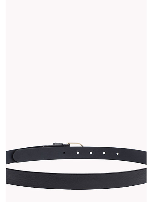 TOMMY HILFIGER Leather Belt - TOMMY NAVY - TOMMY HILFIGER Belts - detail image 1
