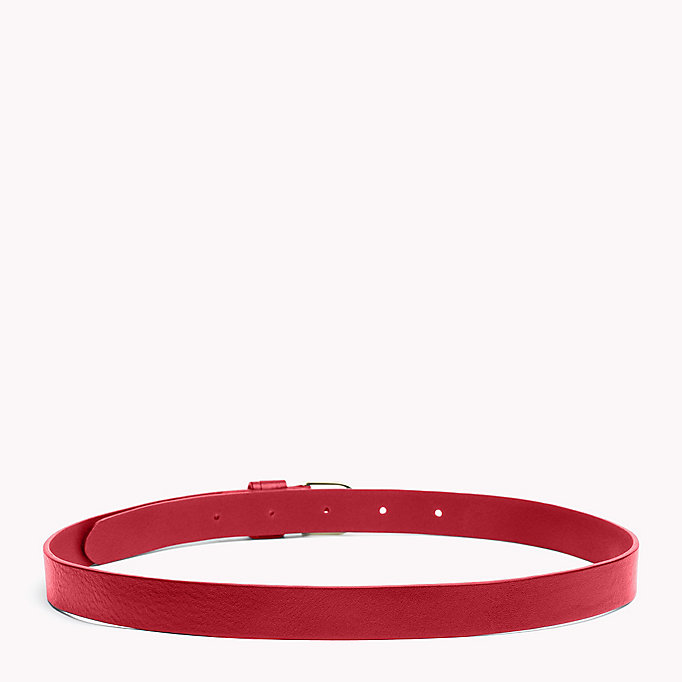 TOMMY HILFIGER Leather Belt - TAN - TOMMY HILFIGER Women - detail image 1