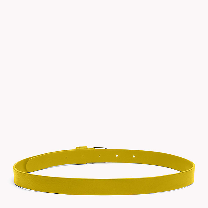 TOMMY HILFIGER Leather Belt - TOMMY NAVY - TOMMY HILFIGER Women - detail image 1