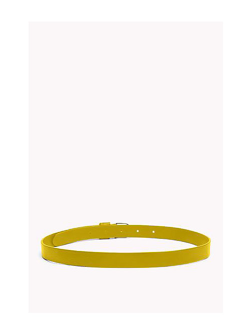 TOMMY HILFIGER Leather Belt - CEYLON YELLOW - TOMMY HILFIGER Belts - detail image 1
