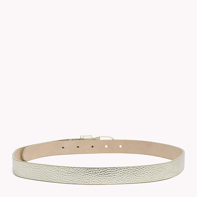 TOMMY HILFIGER Leather Belt - CEYLON YELLOW - TOMMY HILFIGER Women - detail image 1
