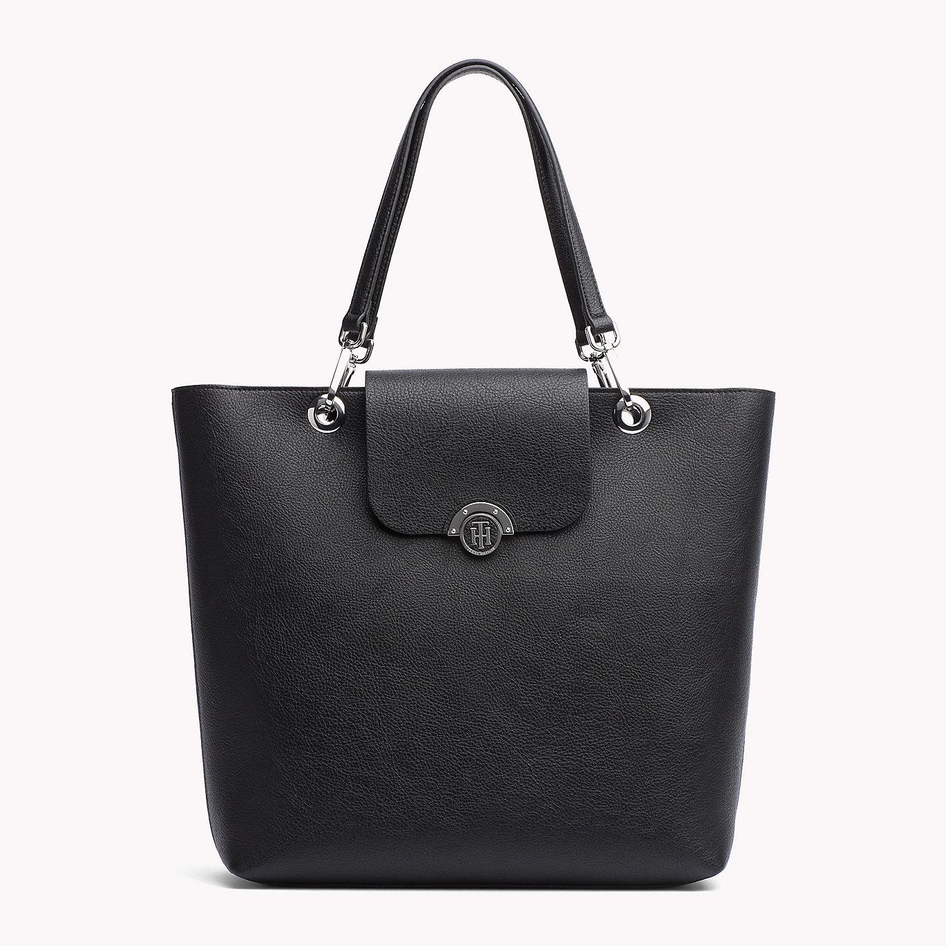 Reversible Flap Tote Bag