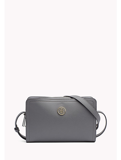TOMMY HILFIGER Boxy Crossover Bag - SMOKED PEARL -  Women - main image