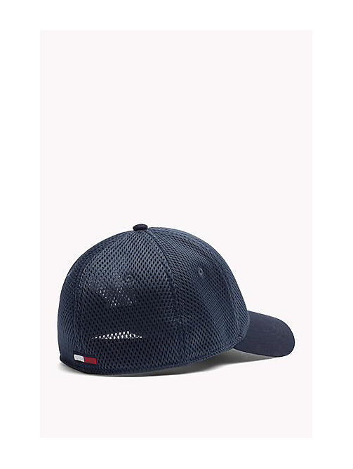 TOMMY JEANS Mesh Baseball Cap - DRESS BLUE - TOMMY JEANS Women - detail image 1
