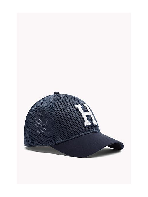 TOMMY JEANS Mesh Baseball Cap - DRESS BLUE - TOMMY JEANS Women - main image