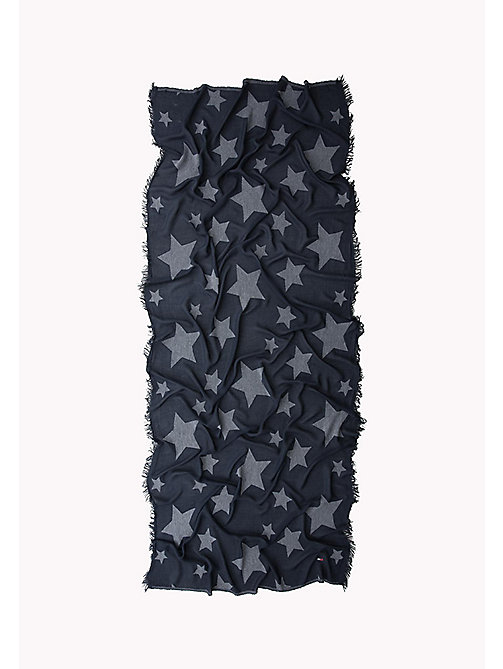 TOMMY JEANS Star Scarf - DRESS BLUES -  Women - detail image 1
