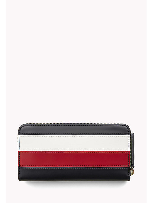 TOMMY HILFIGER Leather Zip Around Wallet - CORPORATE - TOMMY HILFIGER Women - detail image 1