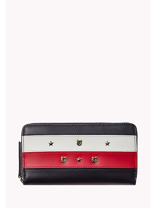 TOMMY HILFIGER Leather Zip Around Wallet - CORPORATE - TOMMY HILFIGER Women - main image