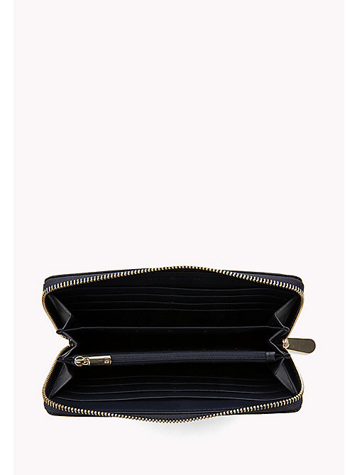 TOMMY HILFIGER Large Zip-Around Wallet - TOMMY NAVY - TOMMY HILFIGER Purses - detail image 1