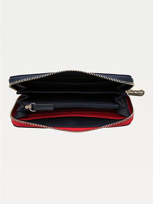 TOMMY HILFIGER Large Zip Around Wallet - TOMMY NAVY - TOMMY HILFIGER Wallets - detail image 1