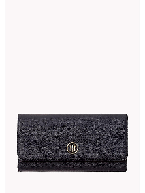 TOMMY HILFIGER Large Zip Around Flap Wallet - TOMMY NAVY -  Women - main image
