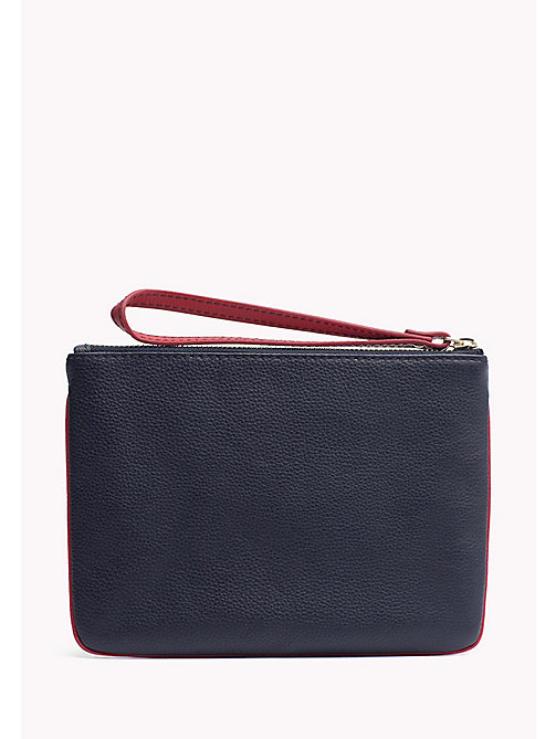 TOMMY HILFIGER Leather Pouch Wallet - CORPORATE CB - TOMMY HILFIGER Bags & Accessories - detail image 1
