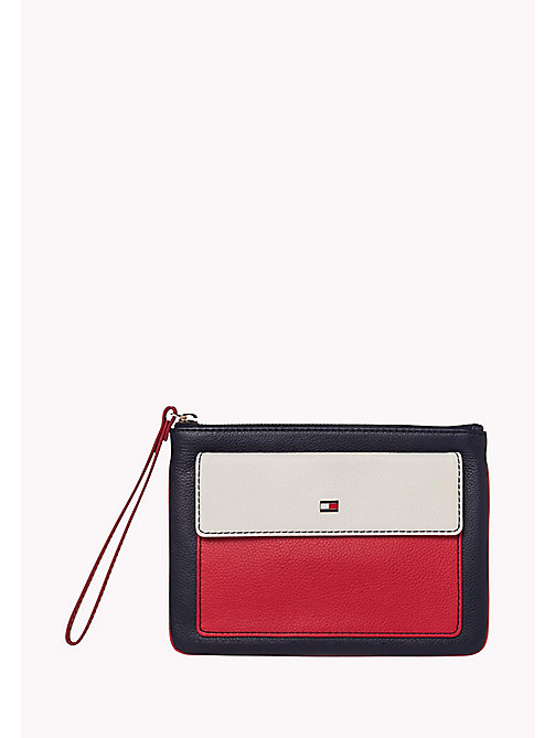 TOMMY HILFIGER Leather Pouch Wallet - CORPORATE CB - TOMMY HILFIGER Bags & Accessories - main image