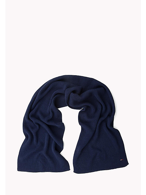TOMMY JEANS Knit Scarf - MEDIEVAL BLUE -  Women - detail image 1