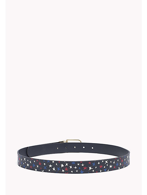 TOMMY HILFIGER Reversible Leather Belt - NAVY STARS - TOMMY HILFIGER Bags & Accessories - detail image 1