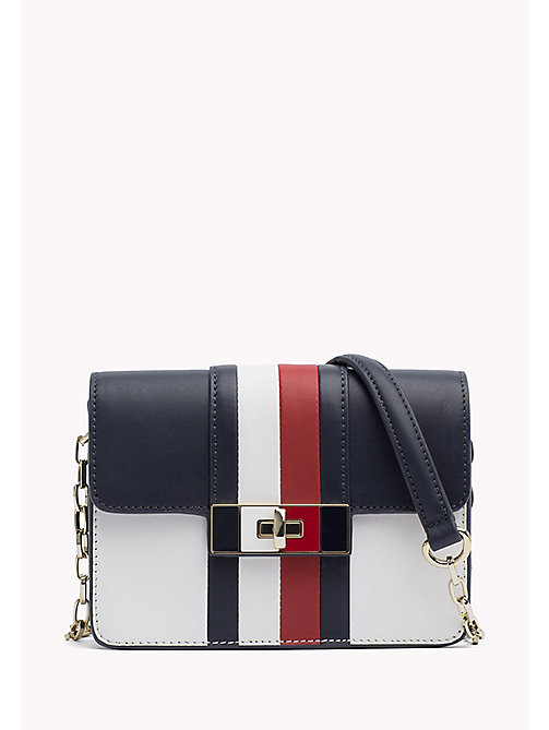 TOMMY HILFIGER Leather Chain Strap Bag - CORPORATE CB - TOMMY HILFIGER Crossbody Bags - main image